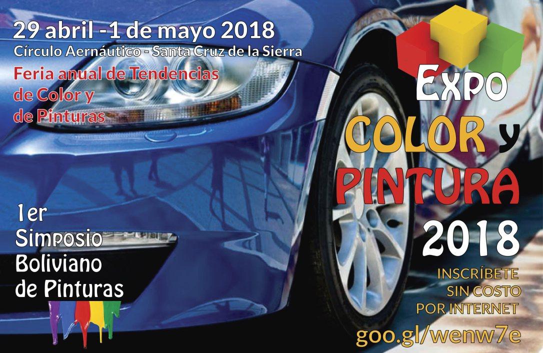 Afiche Expocolor y Pintura AUTO