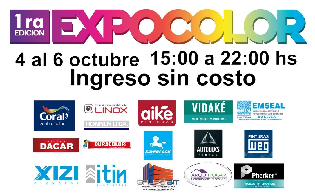 Cartelexpocolor2019cCONLUGARCochabambaVERSION2-01
